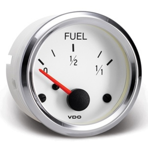 Vdo Pit White Gauge Range, Vdo Fuel Gauge Wiring Diagram